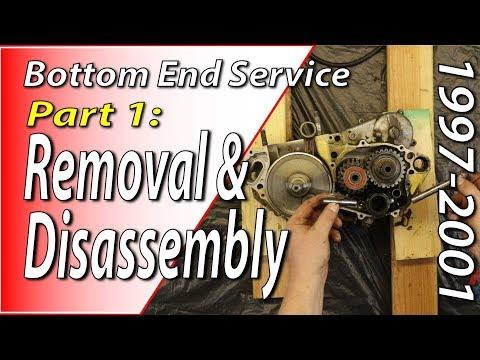 97-01 Honda CR250 - Bottom End - Part 1: Removal & Disassembly
