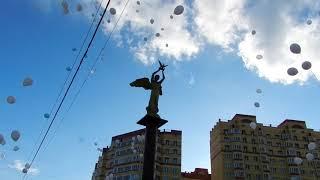 В Егорьевске прошла акция в память о погибших в Кемерово