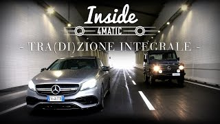 Mercedes 4MATIC, tra(di)zione integrale | Inside