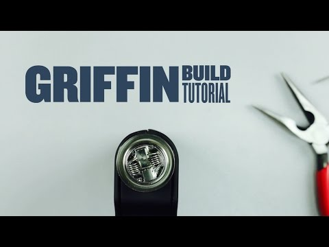 Griffin Build Tutorial - Kanthal 24g Dual Coil