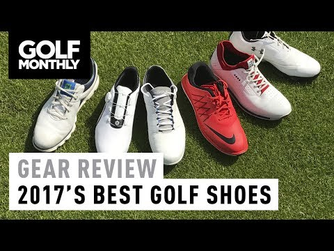 2017 S Best Golf Shoes Golf Monthly Youtube
