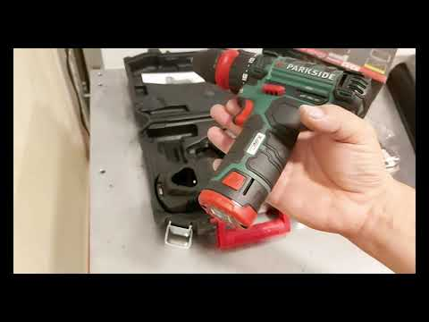 Parkside PBSA 12 Cordless Drill / Driver  Unboxing And Test   LIDL