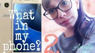Что в моем телефоне? | Анюта TV