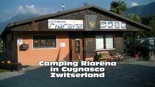 2018 Zwitserland Cugnasco, camping Riarena tussen Locarno en Bellinzona