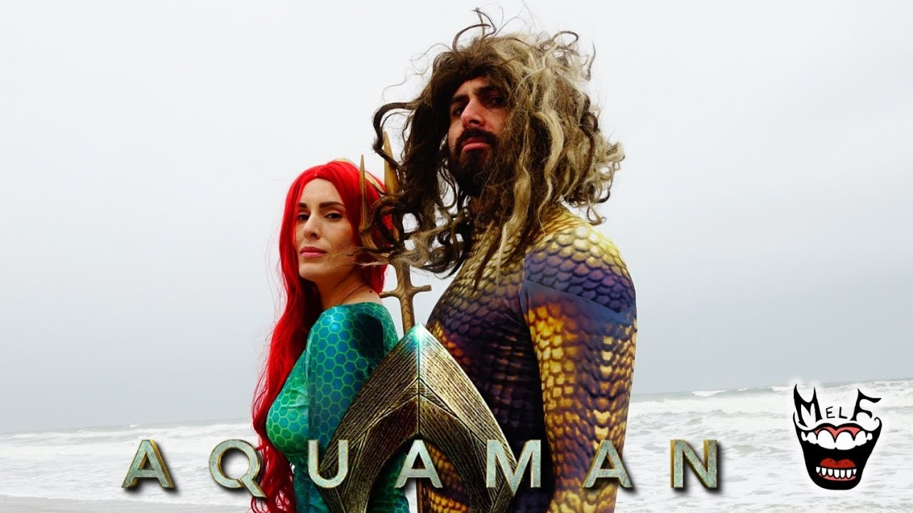Guy Becomes Aquaman After Seeing Aquaman Movie!! (DC Parody)