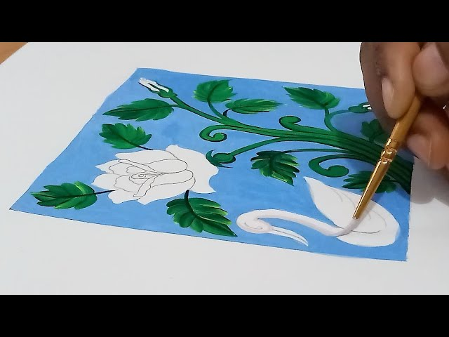 How to draw and colour -  ROSE ALEKHAN ( full video)