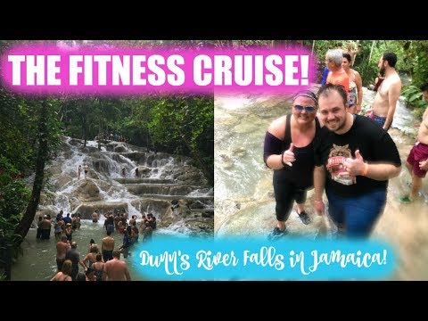 THE FITNESS CRUISE! JAMAICA//DUNN'S RIVER FALLS + MORE! Part 1|| ♡