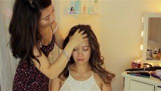 ASMR Sleepy Hairplay with Scalp Massage ~ Oils - Sprays - Brushes