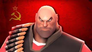 Трейлер нового dlc для  Team Fortress 2(обновление пулеметчика)