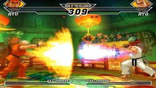 [TAS] Ryu VS Ryo (Capcom vs SNK 2: Mark of The Millenium)