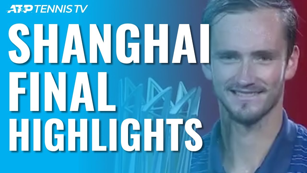 Medvedev Beats Zverev To Win Second Straight Masters 1000 Title! | Shanghai 2019 Final Highlights