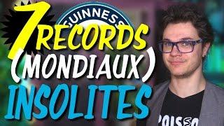 CHRIS : 7 Records (Mondiaux) Insolites