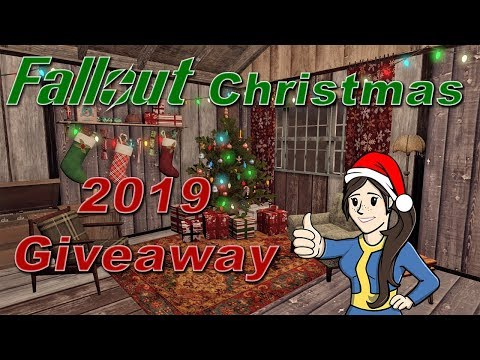 Fallout Christmas 2019 Giveaway Event!