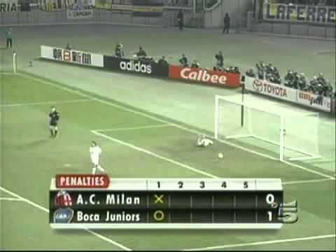 Milan (Italy) Vs Boca Juniors (Argentine) Coppa Intercontinentale 2003