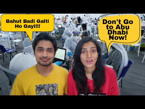 Traveling to Abu Dhabi from India during Covid   How we Skipped Govt Camp in AUH #IndiansAbroad