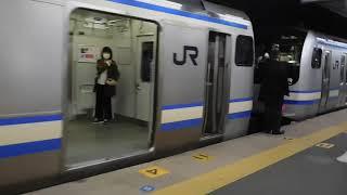 横須賀線20190211逗子駅で列車の連結DSCN4926