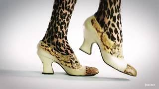 Как менялась женская обувь за 100лет)