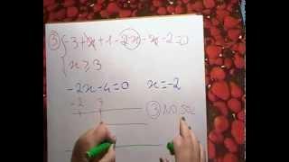 equazioni con valore assoluto
