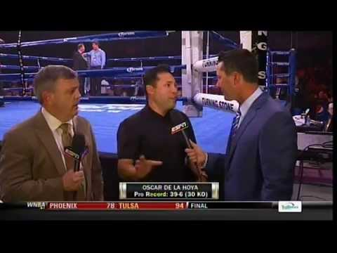 """Oscar De La Hoya: """"Manny Pacquiao was the most difficult opponent I faced"""""""