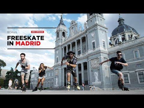 Freeskate in Madrid 80mm