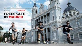 Freeskate in Madrid 80mm