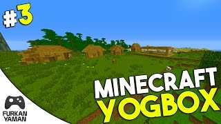 MUHTARLIK TAMAM KÖY BAŞLASIN!! - Minecraft Yogbox - Bölüm 3