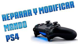 REPARAR JOYSTICKS Y MODIFICAR MANDO PS4 | GUIA