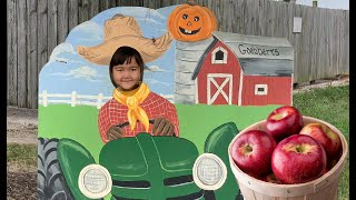 Semra goes to Apple Picking with her family!!!
