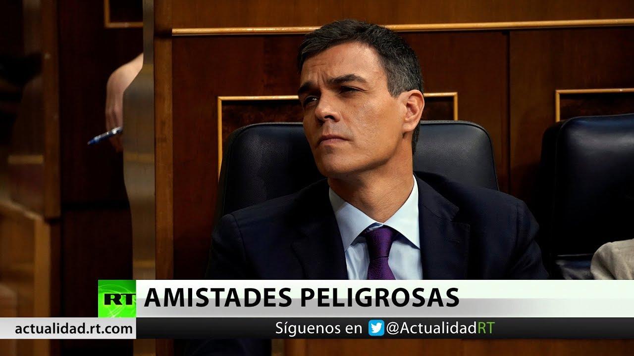 Recordemos que hace un año en España, Pedro Sánchez se reúne en secreto con George Soros