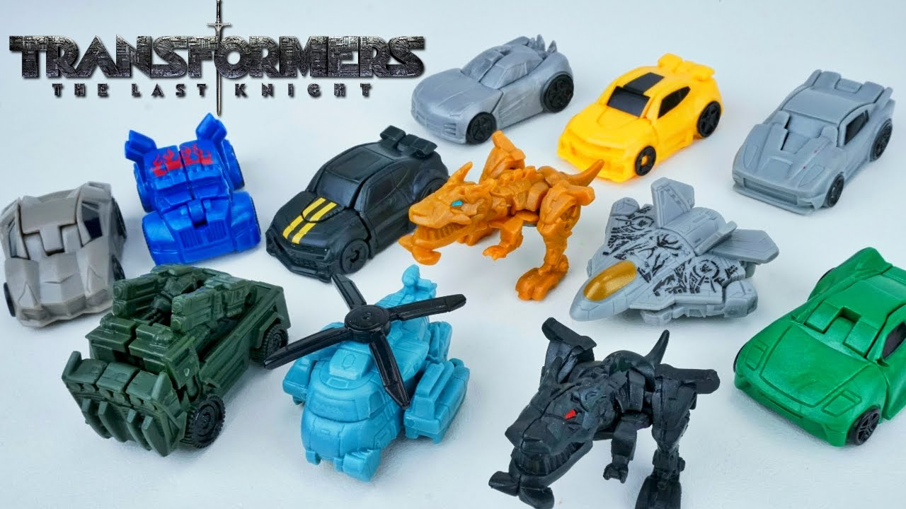 Transformers The Last Knight Tiny Turbo One Step Changers