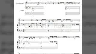 클라리넷 악보/당신과는 천천히 (Clarinet sheet music)