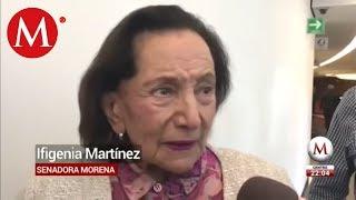 Senadora de Morena se rie de peticion de AMLO a Espana