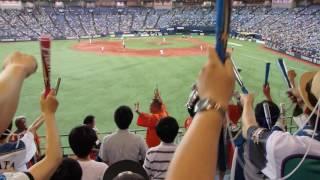 2016年7月13日に京セラドームで開催された日本ハムvsオリックスにおける...
