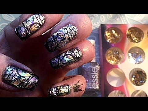 Nail foil and broken glas nail  tutorial thumbnail