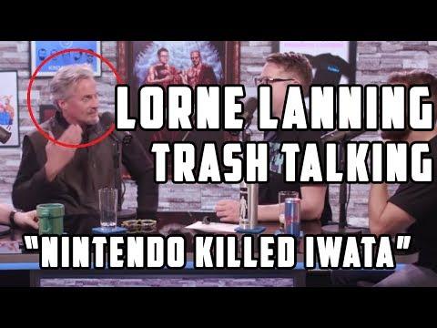 "Lorne Lanning ""Nintendo Killed Iwata"" & Interview fails!★"