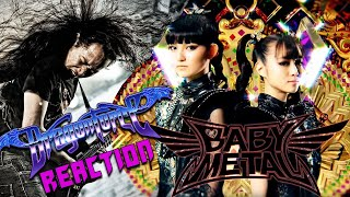 DragonForce Reaction to BABYMETAL BxMxC with Herman Li