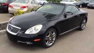 Pre Owned Black 2007 Lexus SC 430 2dr Coupe Hardtop Convertible - Stony Plain, Spruce Grove