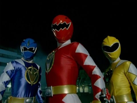 Power Rangers Dino Thunder - First Morph and Fight