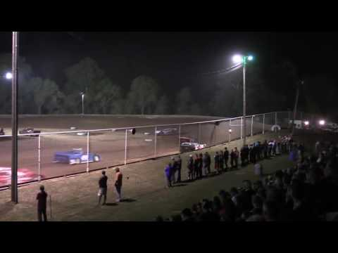 Ohio Valley Speedway Late Model Heat Race 9-24-2016