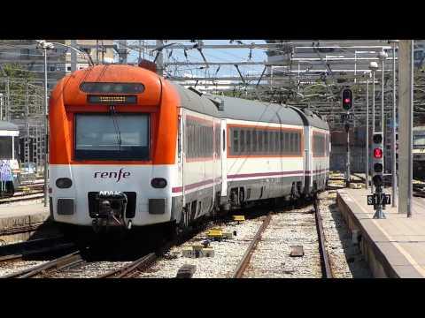 448 RENFE MD SALIENDO DE ESTACION DE FRANCIA