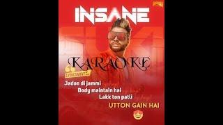 Insane karaoke || Sukhe || Musicgram || Digital Sheff
