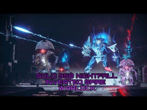 Solo 950 Nightfall The Inverted Spire (Warlock) Flawless?