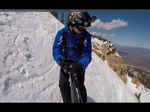 The Steepest Ski Trail At Aspen/Snowmass - Roberto's Double