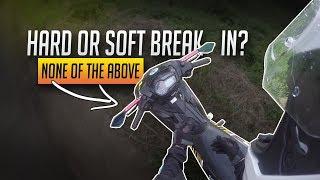How I Break In my Motorcycle - Is it Proper? | Yamaha Sniper 150 Motovlog