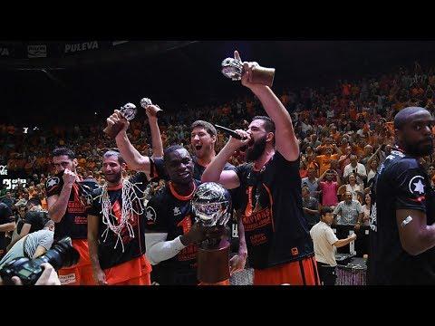 Así fue la celebración de Valencia Basket
