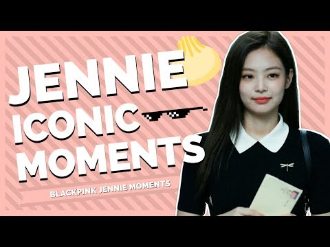 iconic blackpink jennie moments