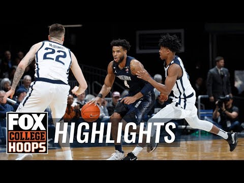 Georgetown upsets No. 19 Butler without their top two scorers, 73-66 | FOX COLLEGE HOOPS HIGHLIGHTS