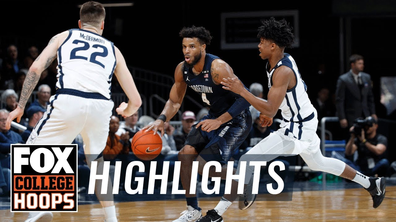 Georgetown upsets No. 19 Butler without their top two scorers, 73-66  HIGHLIGHTS