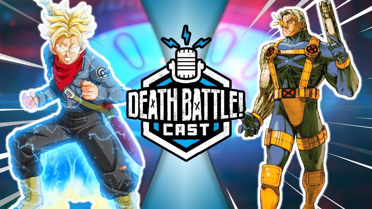 Trunks VS Cable?! | DEATH BATTLE Cast #250