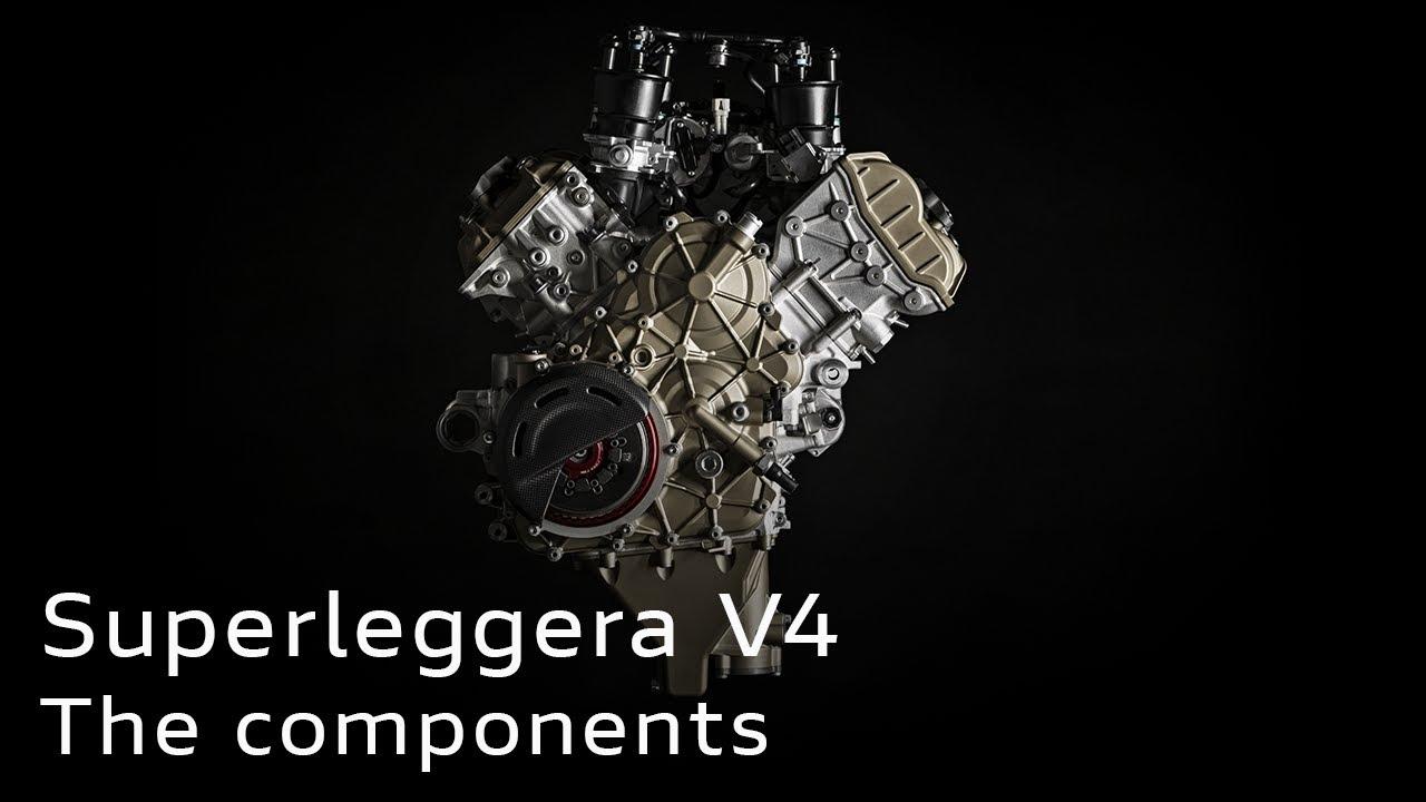 Superleggera V4   The components, explained
